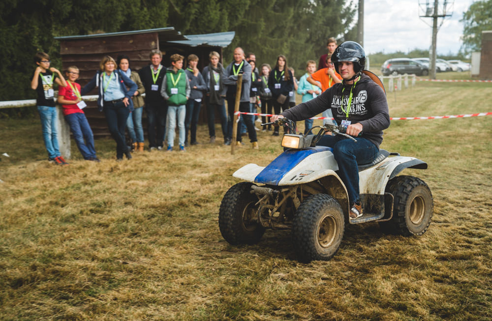 quad racing Off-road event chateau chérimont