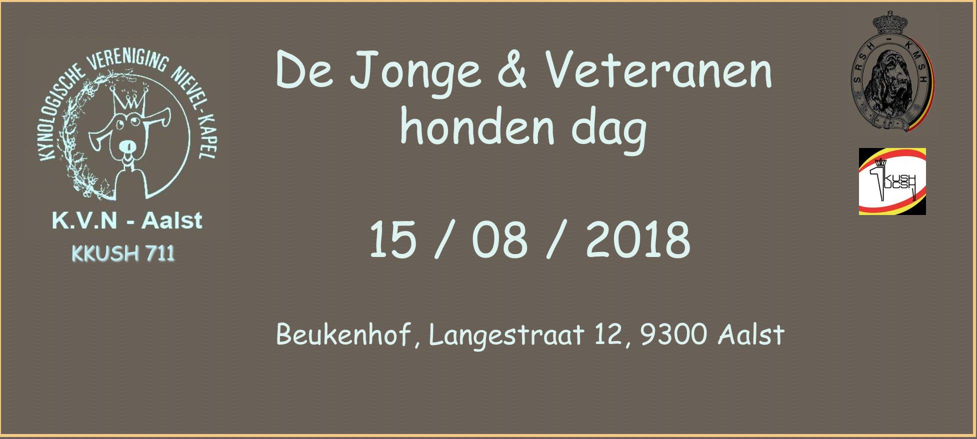 Jonge honden en veteranen dag KVN Aalst copy