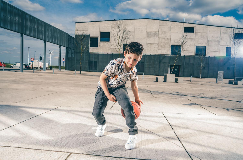 fotoshoot met basket