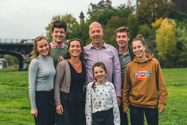 formule 1 familiefoto's