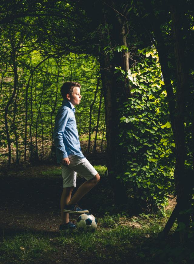 lentefeest voetbalreportage